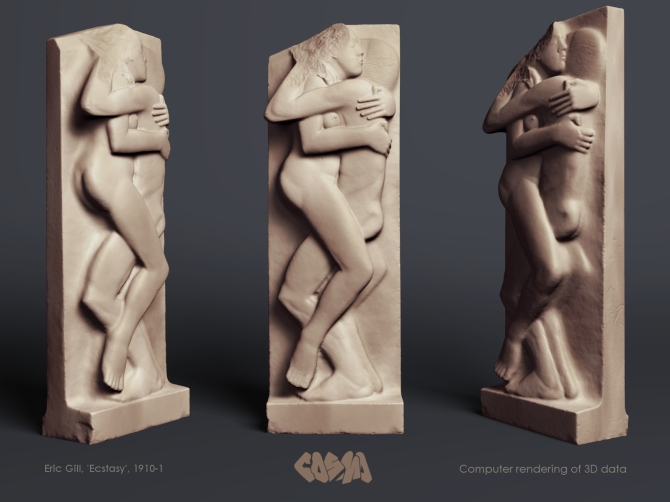 20141106 Eric Gill, Ecstasy by Cosmo Wenman