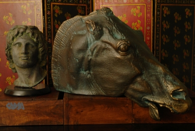 Alexander the Great and Horse of Selene in Lost Bronze and Epic Bronze