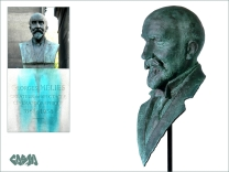 George Melies 3D scanned 3D printed by Cosmo Wenman