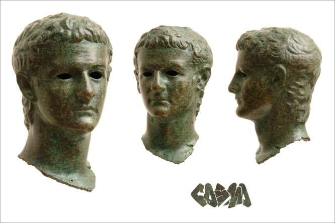 Getty Caligula Bronzed and Patinated by Cosmo Wenman