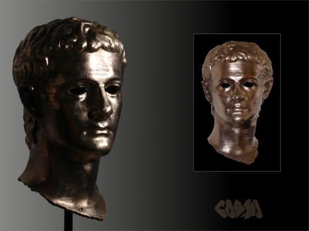 Getty Caligula in Bronze by Cosmo Wenman
