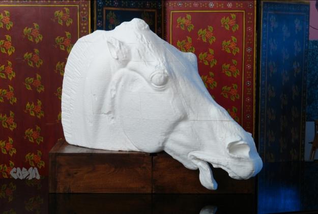 Horse of Selene Progress Print