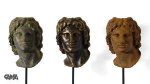 Portraits of Alexander the Great, -300, 1440, 1945_w600