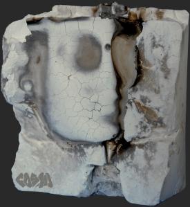 Broken PLA Mold grey bg by Cosmo Wenman