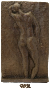 Matisse Nude Back I in Bronze by Cosmo Wenman_close crop