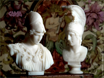 20140328 Athena of Velletri and Ares Borghese 3D Captures by Cosmo Wenman