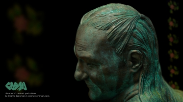 20140411 Life-size 3D Printed Portrait by Cosmo Wenman 1