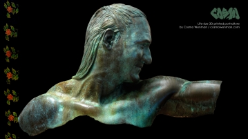 20140411 Life-size 3D Printed Portrait by Cosmo Wenman 3