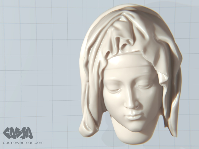 20150101 Pieta 3D Model by Cosmo Wenman