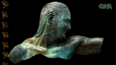 20150401 Life-size 3D Printed Portrait by Cosmo Wenman