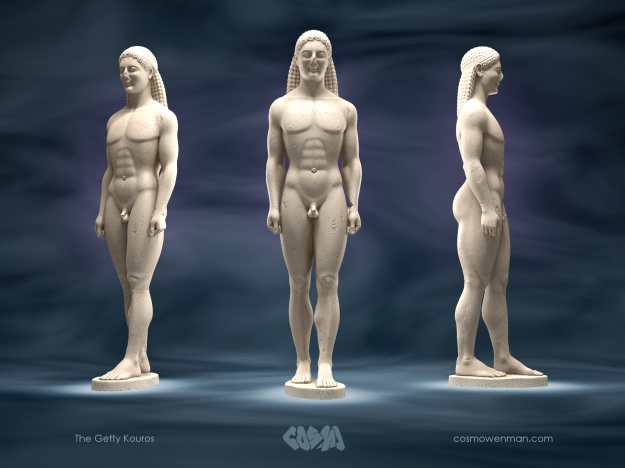 20150501 The Getty Kouros by Cosmo Wenman