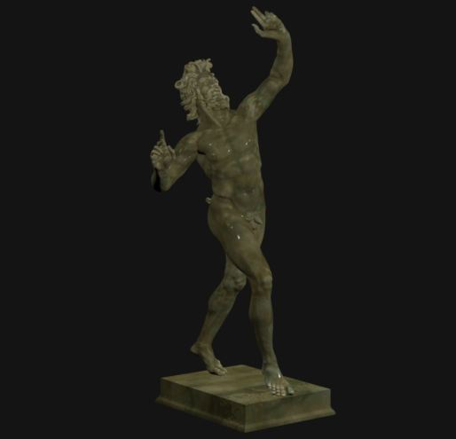 20151229 DancingFaun_3D scan by CosmoWenman