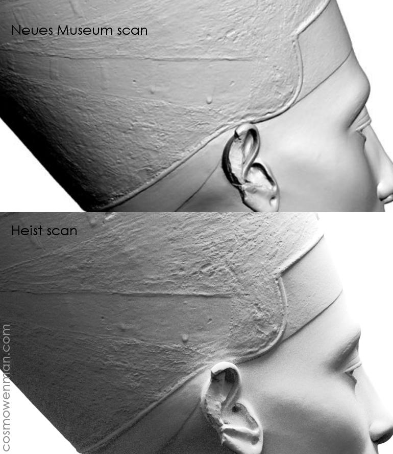 The Nefertiti 3D Scan Heist Is A Hoax | Cosmo Wenman